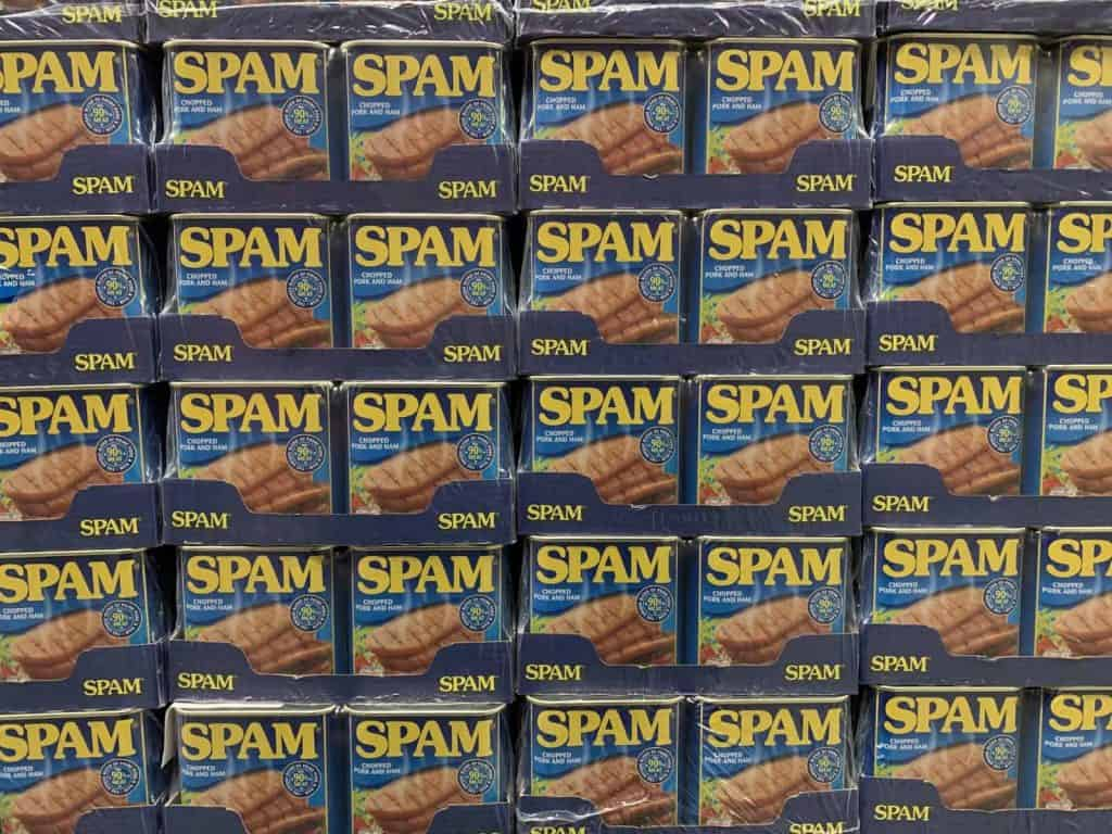 spam canned ham