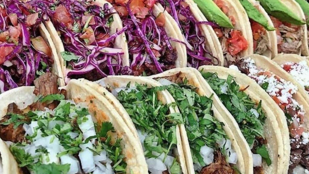 types of tacos in mexico
