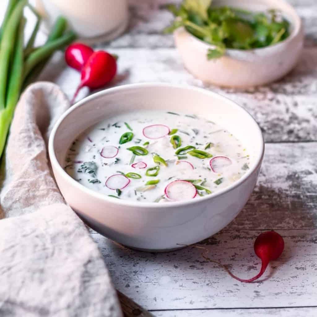 Russian Okroshka Soup