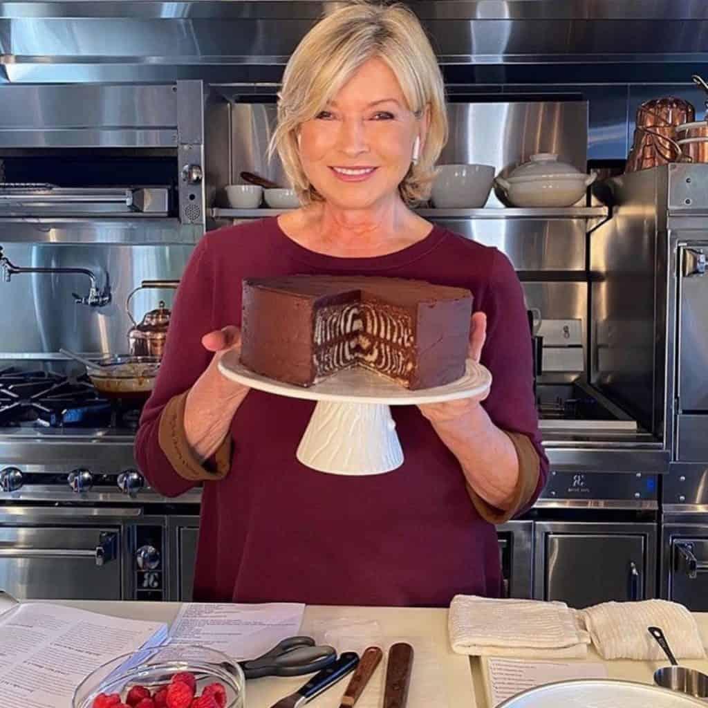 Chef Martha Stewart